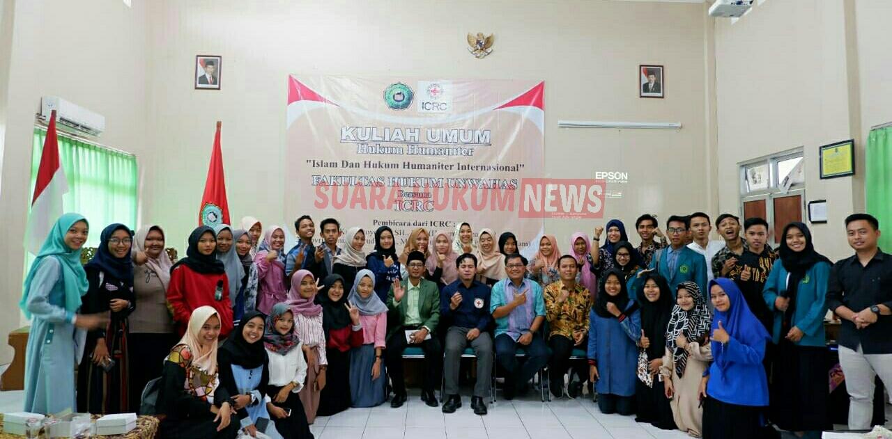 Kuliah Umum Unwahas Semarang ; Islam dan Hukum Humaniter Internasional