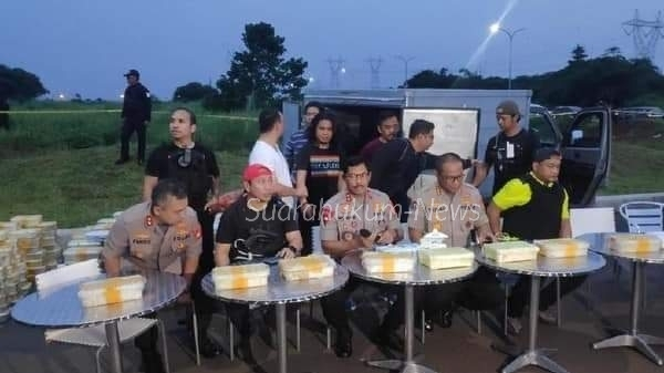 Polda Metro Jaya Gagalkan Peredaran 288 Kg Sabu Di Tangerang, 3 Kurir Dilumpuhkan Dengan Timah Panas