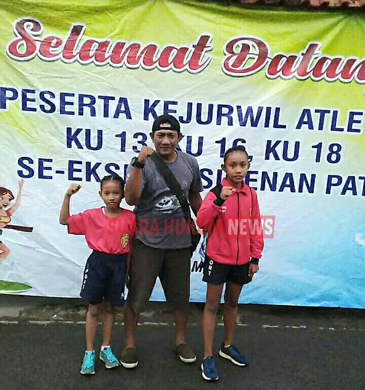 Dua Sprinter Cilik Kakak Beradik Dari Kota Pati , Peraih Medali Perak Di Popda SD/MI Jateng 2019