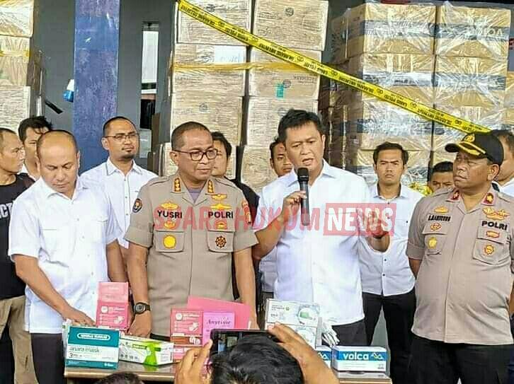 Polda Metro Jaya, Grebek Penimbunan 600 Ribu Masker Tak Miliki Ijin Edar