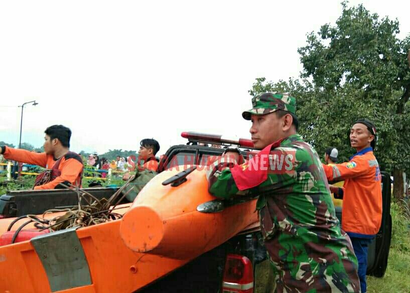Tim SAR Gabungan ,Terus Cari Korban Tenggelam Di Sungai SWD II Welahan