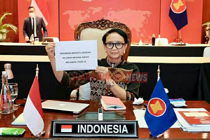 ASEAN Tingkatkan Sinergi Hadapi Covid-19, Indonesia Tegaskan 4 Hal Penting