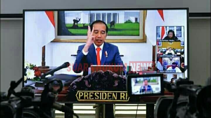 Enam Arahan Presiden Joko Widodo Dalam Membendung Penyebarluasan Covid-19