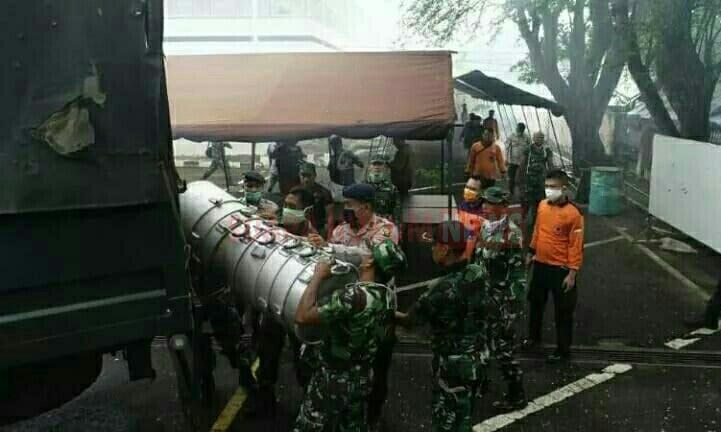 Dapur Umum Kodam II/Sriwijaya Untuk Warga Terdampak Corona Di Palembang