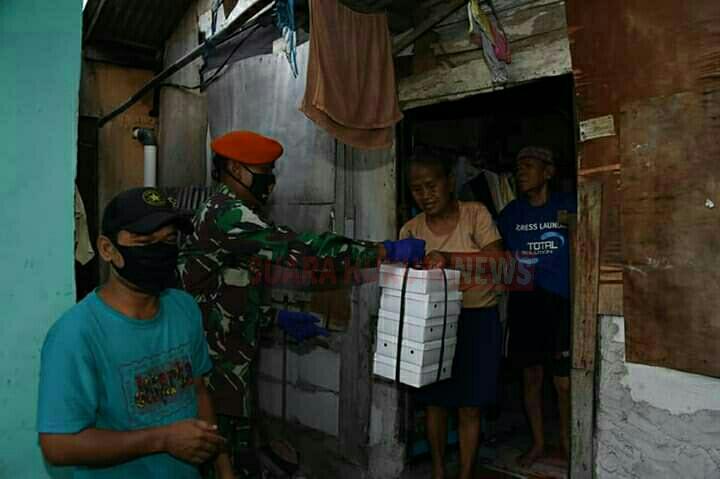 OASE KIM & Dharma Pertiwi Kembali Beri Bantuan Kemanusiaan Pada Warga Terdampak Covid-19