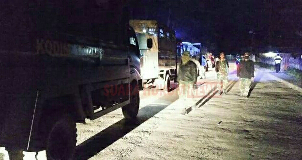 Sinergitas TNI-Polri Giat Patroli Pada Jam Malam , Tingkatkan Kamtibmas Di Wamena