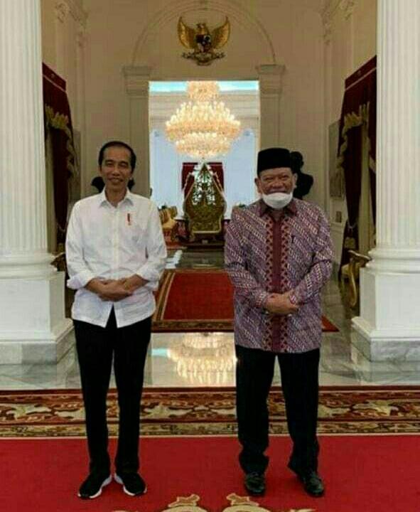 Satu jam Di Istana, LaNyalla Sampaikan Soal Ketahanan Pangan Hingga Penguatan DPD RI