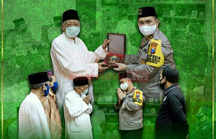 Kapolda Jatim Silaturahmi Dengan Ketua Majelis Ulama Indonesia Provinsi Jawa Timur