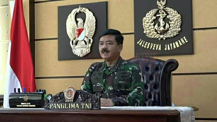 Langkah Konkrit TNI Dalam Membantu Penanganan Covid-19 Di Indonesia