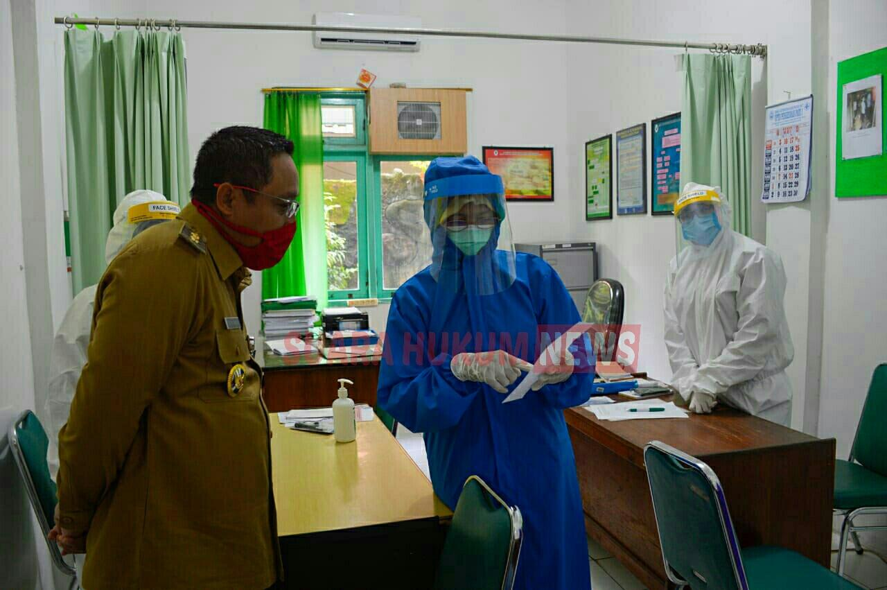 Wakil Bupati Saiful Arifin Kembali Lakukan Monitoring Ke Puskesmas