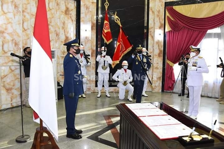 Panglima TNI Pimpin Penyerahan Jabatan Pangkogabwilhan I Dan Pangkogabwilhan II