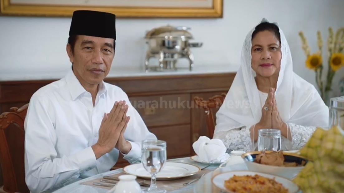 Presiden Joko Widodo Beserta Ibu Iriana Mengucapkan Selamat Hari Raya Idul Fitri 1441 Hijriyah