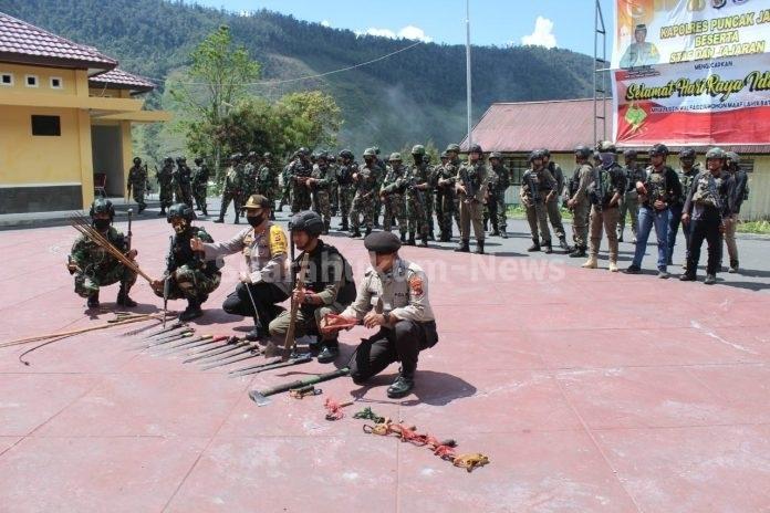 Ciptakan Situasi Aman & Kondusif, Aparat Gabungan Polri-TNI Gelar Patroli Dan Razia Di Seputaran Kota Mulia