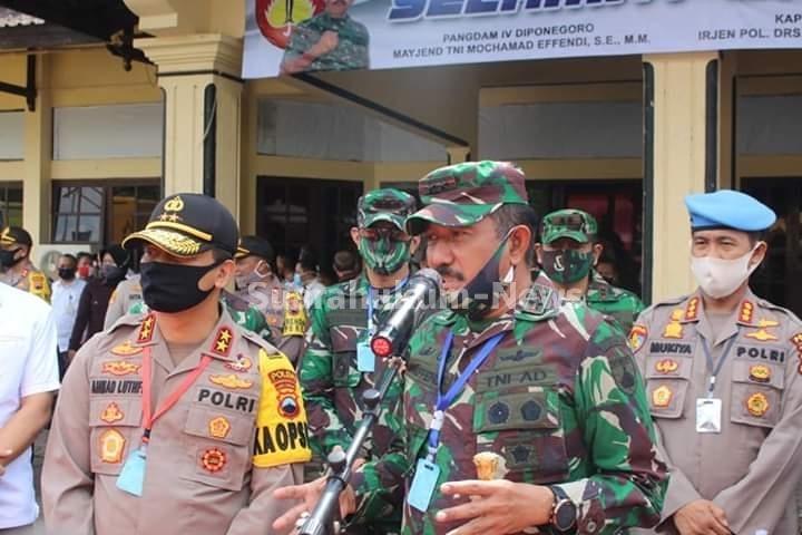 Pangdam IV: Seluruh Prajurit TNI Harus Bertindak Cepat Dan Tepat Dalam Penanganan Covid-19