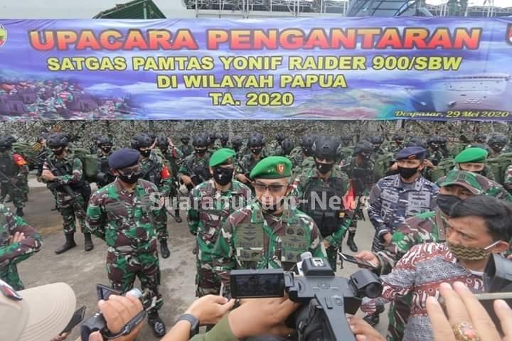 Pangdam : Tugas Mulia Satgas Pamtas Di Wilayah Papua Adalah Sebuah Kebanggaan & Kehormatan