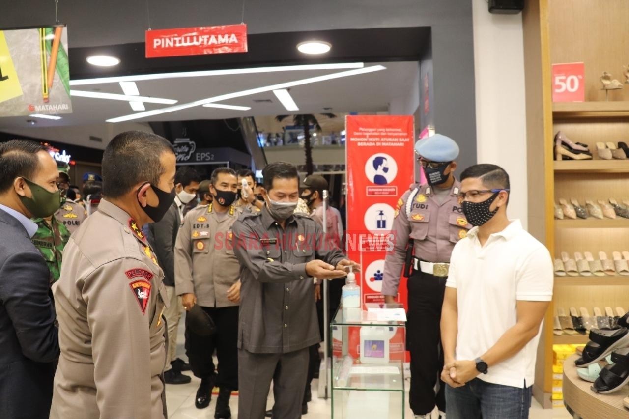 Hadapi New Normal, Kapolda Banten Tinjau Pusat Perbelanjaan Di Kota Serang