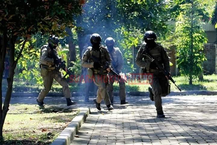 Asah Kemampuan Tempur, Rupanpur Yonif 3 Marinir Gelar Latihan Pertempuran Jarak Dekat