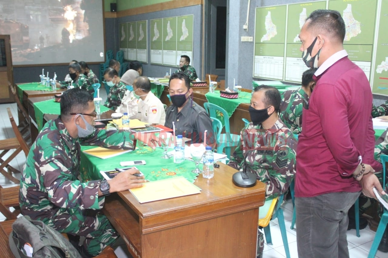 Tim Dalprog Kodam IV Diponegoro Cek Daya Serap Anggaran Kodim 0718 Pati