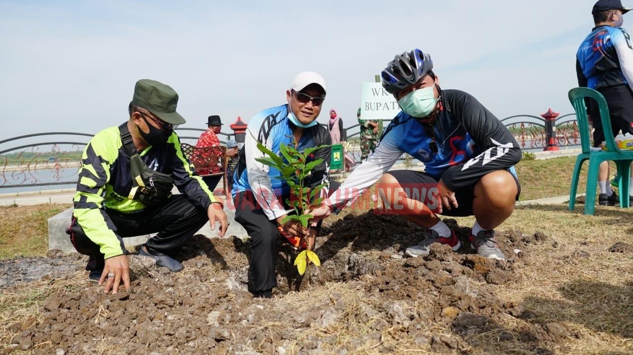 Usai Dampingi Bupati, Safin : Embung Bisa Tingkatkan Taraf Ekonomi Masyarakat