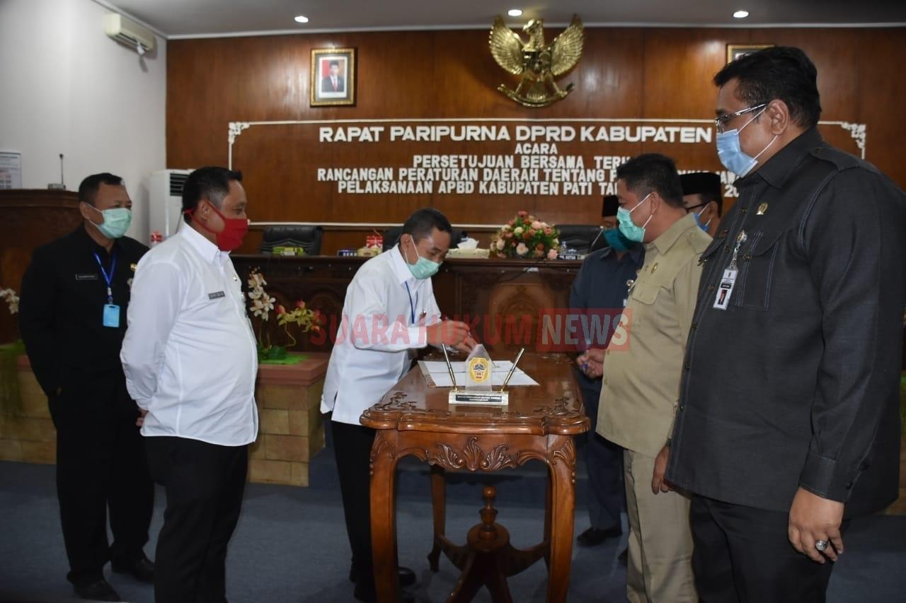 Raperda Pertanggung-Jawaban Pelaksanaan APBD Kabupaten Pati Tahun Anggaran 2019
