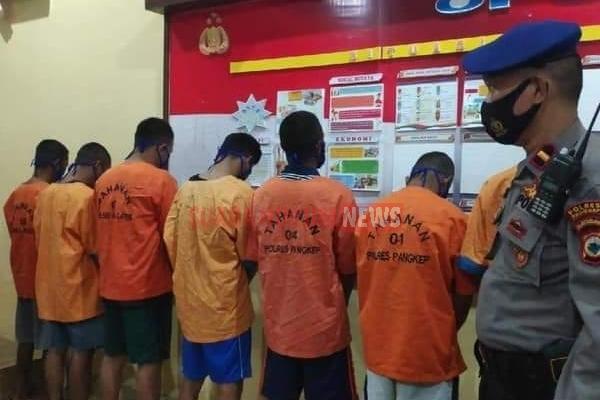 Tangkap Ikan Menggunakan Bom Explosive, 7 Nelayan Diamankan Petugas Polres Pangkep