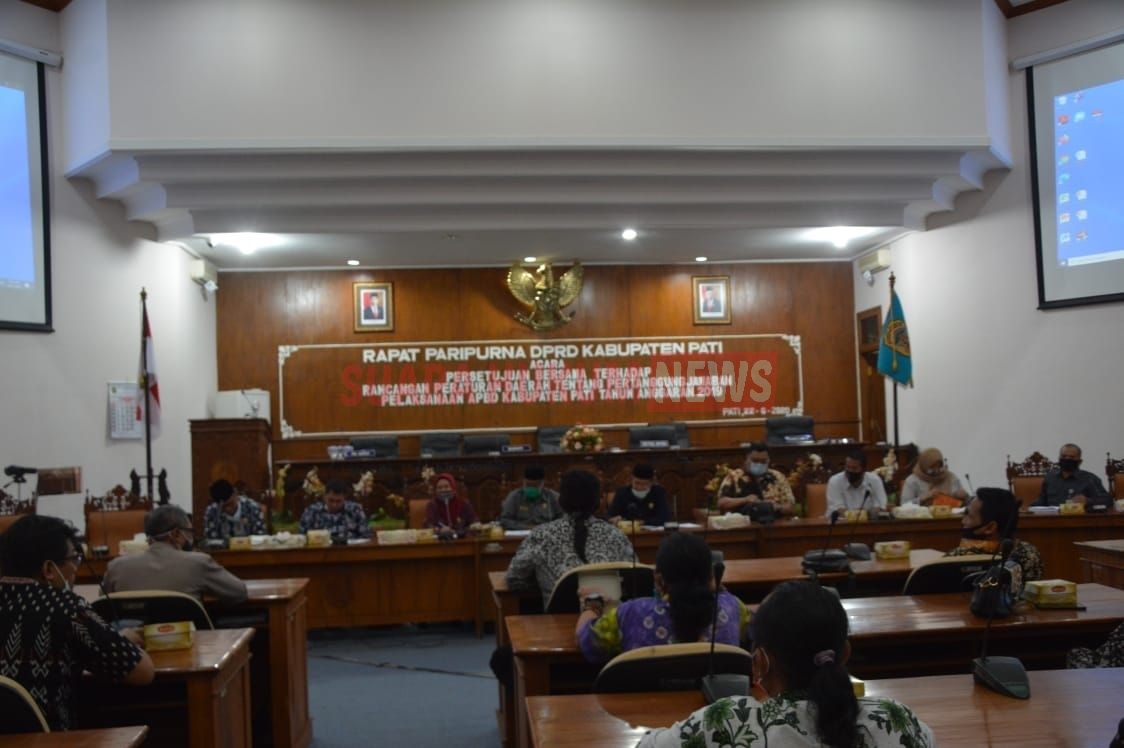 Datangi Kantor DPRD, Forum Penggiat Seni & Budaya Kabupaten Pati Minta Kelonggaran Ijin Keramaian
