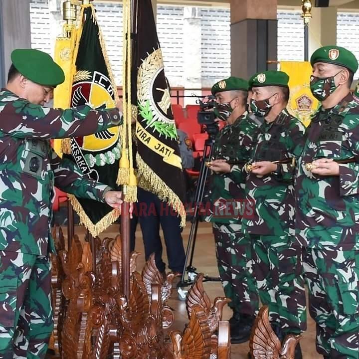 Kasad Pimpin Sertijab 9 Jabatan Pangkotama Dan Laporan Korps Kenaikan Pangkat 56 Perwira Tinggi TNI-AD