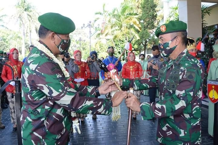 Mayjen TNI Bakti Agus Fadjari Resmi Jabat Sebagai Pangdam IV/Diponegoro