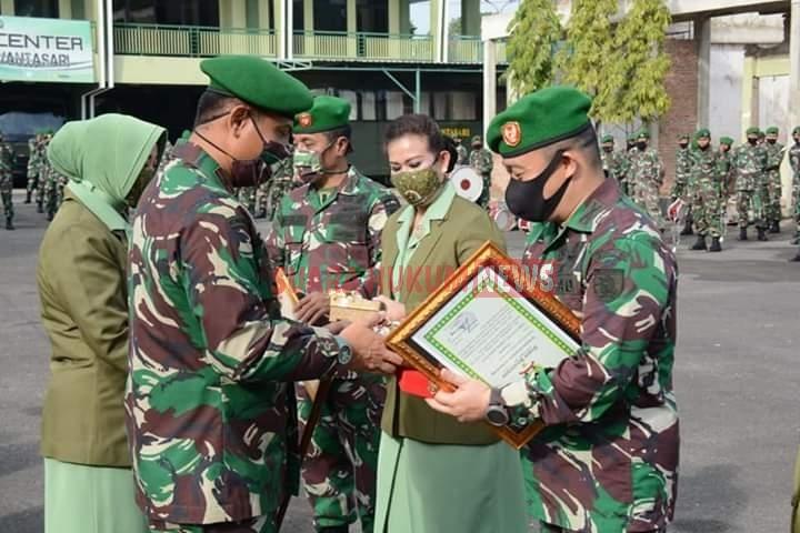 Sertijab Kasrem & Dandim 1007 Banjarmasin Di Lapangan Makorem Antasari