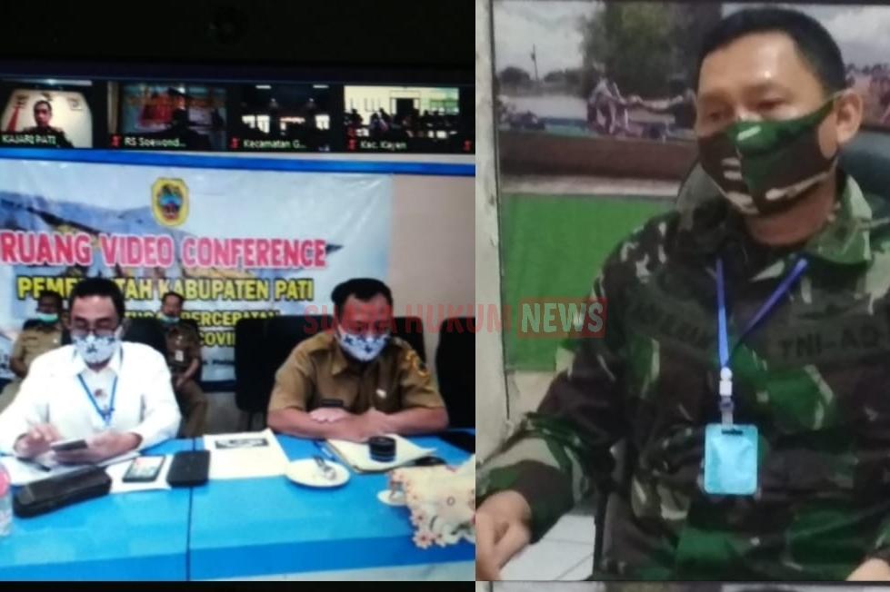 Kodim 0718 Pati Dukung Pelaksanaan New Normal Di Kabupaten Pati