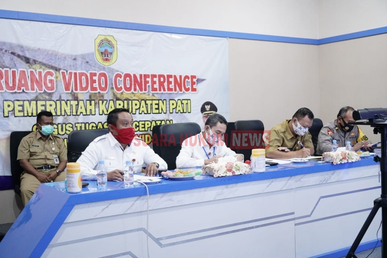 Gelar Rapat Virtual Jelang New Normal, Bupati Haryanto Singgung Soal Ponpes Dan Sedekah Bumi