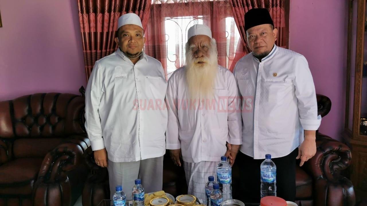 Safari Di Banten, Ketua DPD RI LaNyalla Sowan Di Kediaman Abuya Syar'i, Ciomas