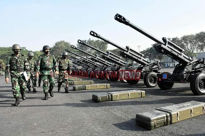 Tunjukkan Sigap Prajurit, Danmenart 2 Marinir, Pimpin Apel Pengecekan Material Tempur