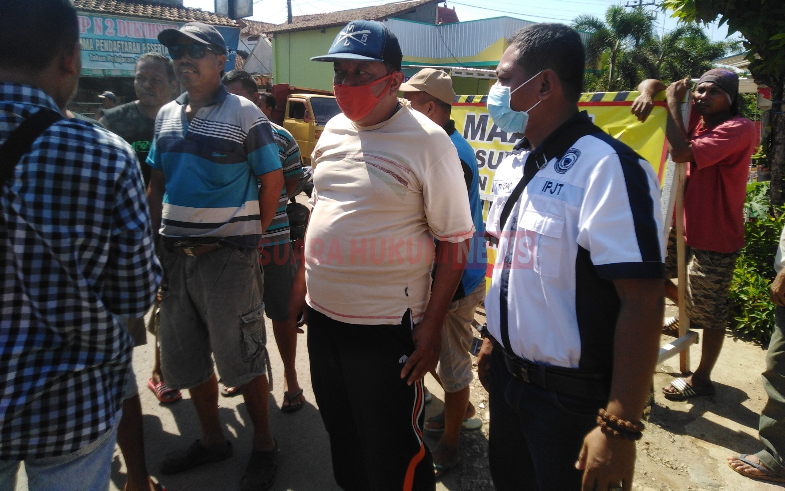 Aksi Mogok Puluhan Supir Dump Truk, Diduga Jalur Alternatif Tak Berikan Solusi Bagi Wong Cilik