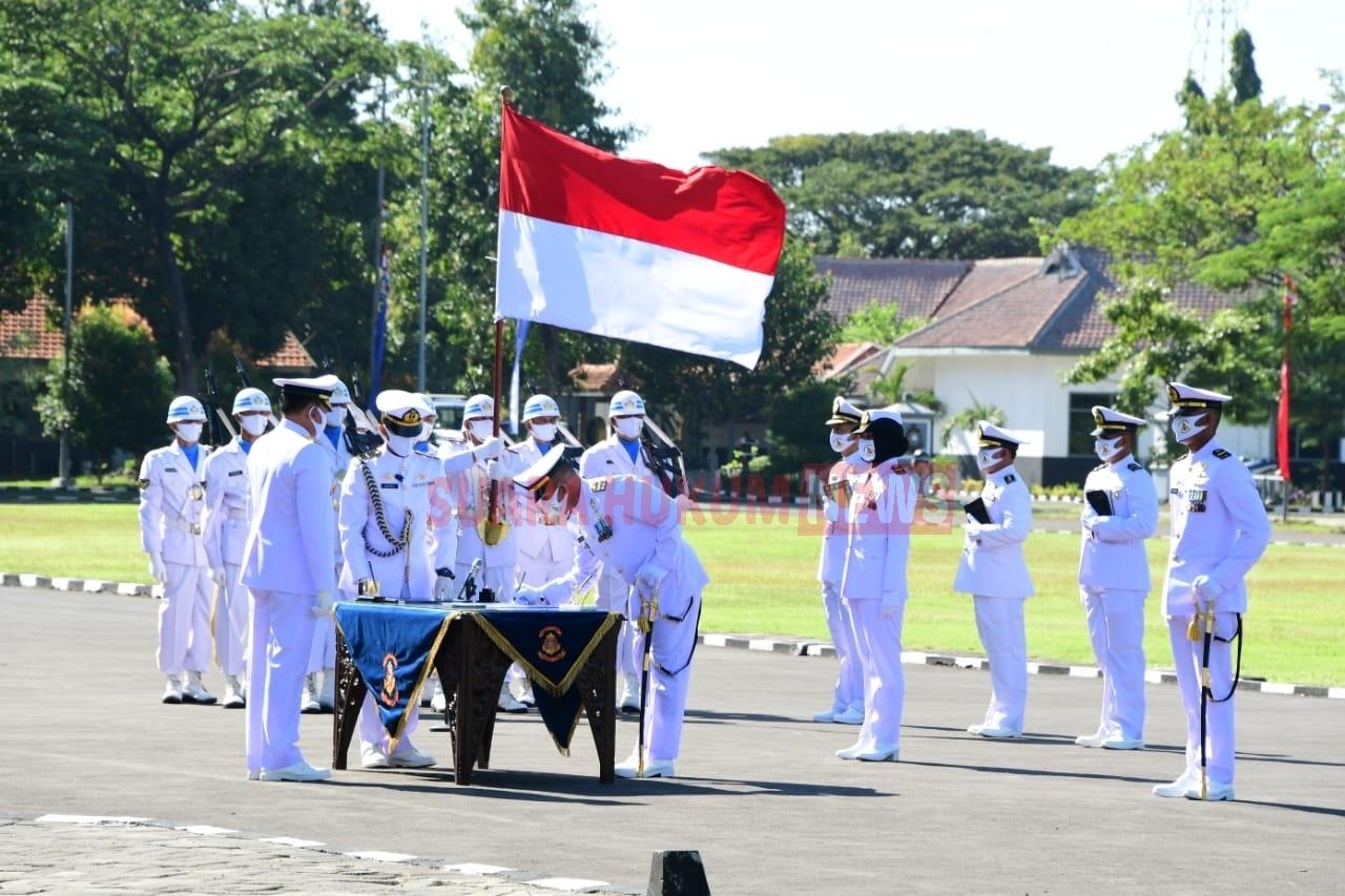 Upacara Prasetya Perwira Diktukpa TNI-AL Angkatan Ke-49 Dipimpin Langsung Oleh Kasal