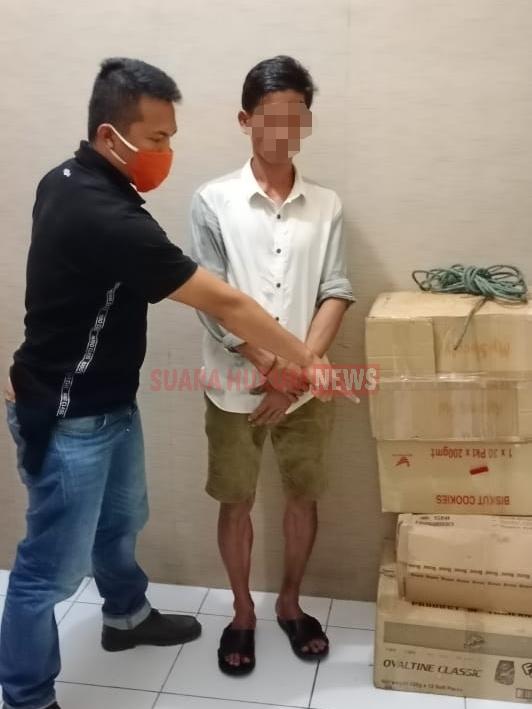 Curi Pakaian Dalam Wanita Hingga 4 Dus, Pelaku Diamankan Unit Reskrim Polsek Tanjung Balai Utara