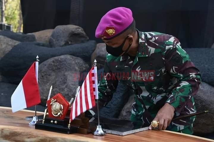 Dukung Sarana Latihan, Dankomar Resmikan Fasilitas Pusat Latihan Tempur Marinir
