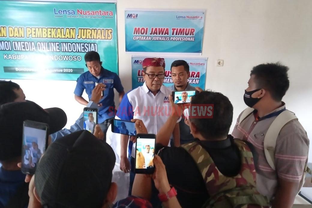 DPW MOI Jatim Gelar Pelatihan Jurnalistik, Untuk Ciptakan Wartawan Profesional