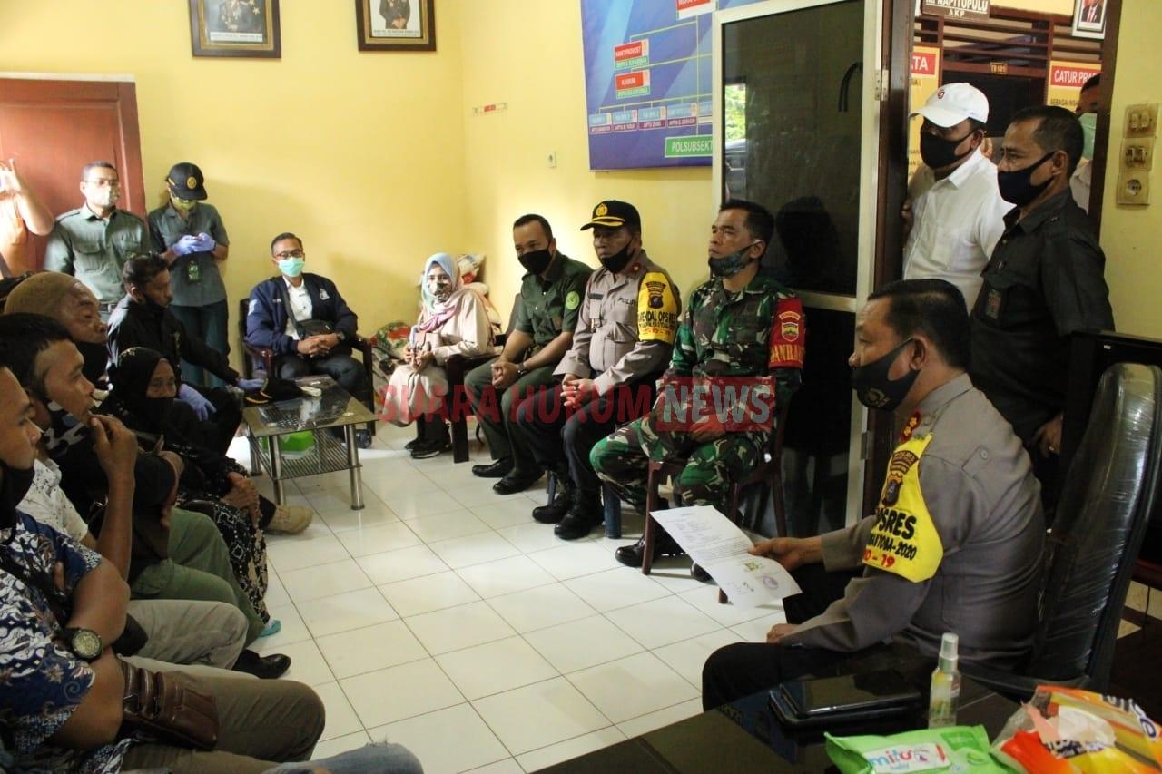 Kapolres Serdang Bedagai Bantu Mediasi Sengketa Lahan & Berikan Uang Silaturahmi