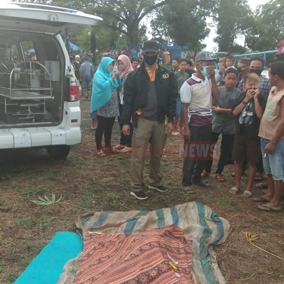 Penemuan Korban Tenggelam Di Bendungan Intek Pulau Tagor