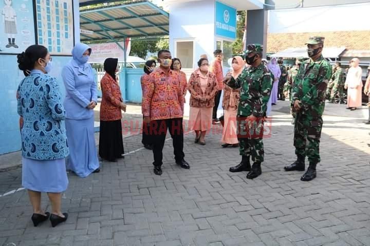 Pangkoopsau II Melakukan Kunjungan Kerja Di Lanud Muljono Surabaya
