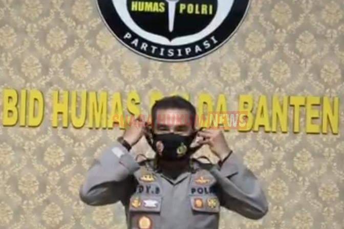 Kabid Humas Polda Banten : Pakai Masker Tidak Hanya Bagi Orang Yang Sakit Saja