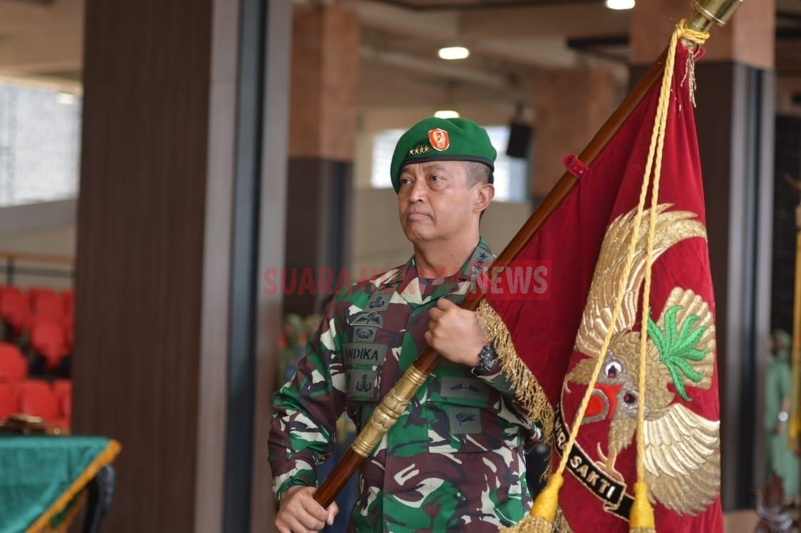 Kasad Pimpin Sertijab 5 Jabatan Strategis & Terima Laporan Kenaikan Pangkat Perwira Tinggi TNI AD