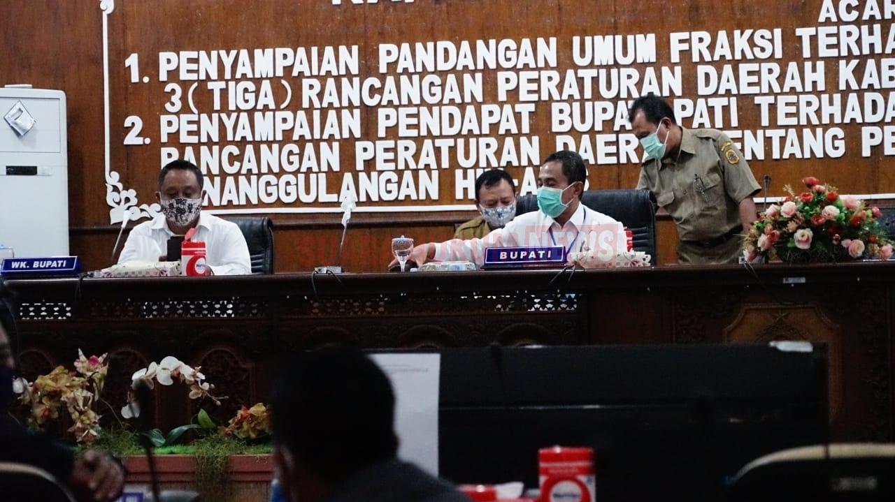 Rapat Paripurna, Bahas Penyertaan Modal Perumda Di Kabupaten Pati