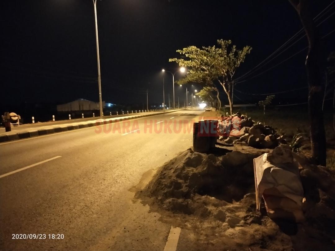 Pelaksana Proyek JLS Pati ,Diduga Abaikan PP Nomor 50 Tahun 2012 Tentang Penerapan SMK3