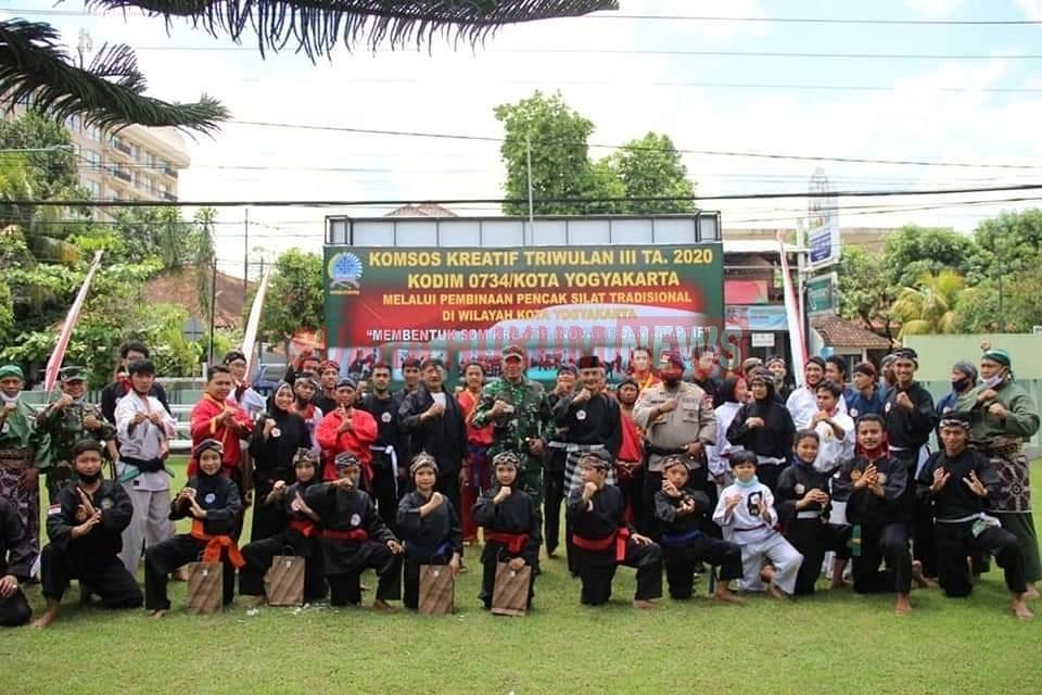 Dandim Kota Yogyakarta : Silat Merupakan Warisan Budaya Yang Harus Terus Kita Lestarikan