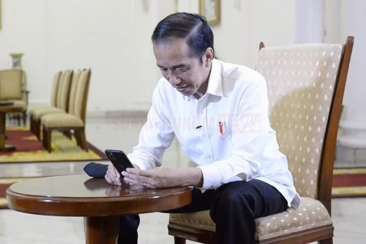 Berbincang Dengan Dokter, Presiden Jokowi : Saya Bisa Bayangkan Betapa Beratnya Tangani Covid-19