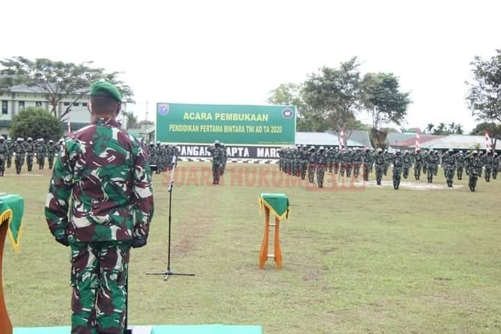 322 Putra Terbaik Bangsa Siap Ikuti Pendidikan Pertama Bintara TNI AD
