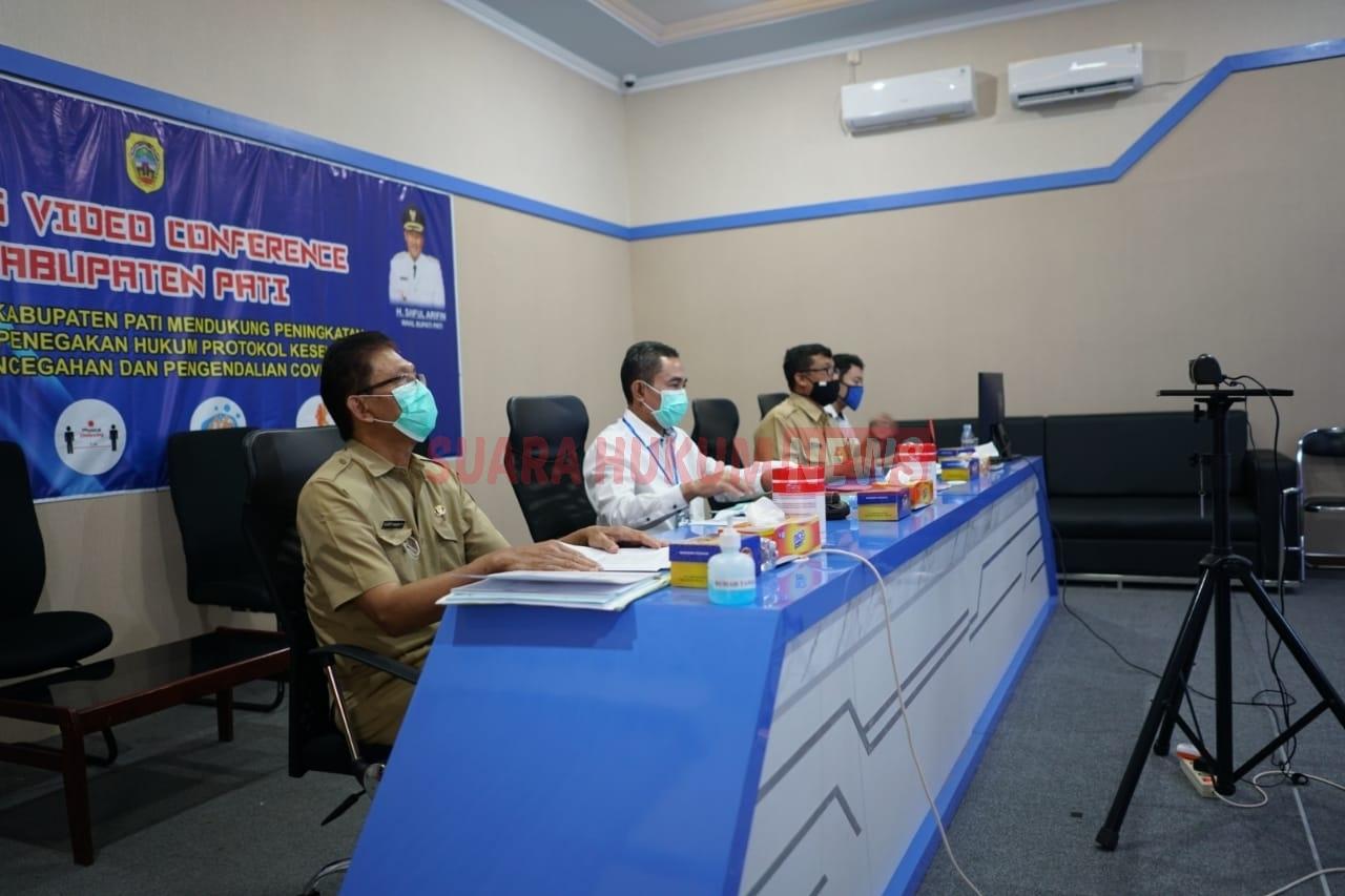 Bupati Haryanto Jadi Narasumber Webinar Keolahragaan Jateng