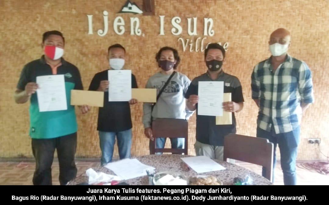 Anggota FKPRM Banyuwangi Berhasil Sabet Juara II Diajang Perlombaan Karya Jurnalistik